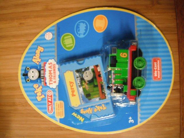Thomas the Tank Take Along Train Car Engine Easter - Percy