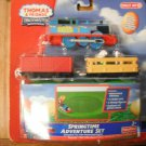 Thomas the Tank Trackmaster Motorized Springtime Easter Adventure Set Train Car Engine Set