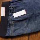 Liz Lange Blue Maternity Capri Denim Jeans Size 8