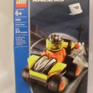 Lego Racers Yellow Car with Driver 8360