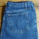 Induetime Denim Knit Front Panel Maternity Jeans Size 12