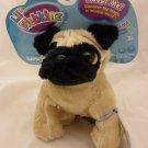 Ganz Lil' Webkinz Pug Dog Plush Toy HS105