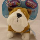 Ganz Lil' Webkinz Bulldog Plush Toy HS126