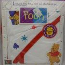 Disney Winnie the Pooh Hooded Terry Bath Towel & Washcloth Set
