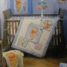 Disney Sincerely Winnie the Pooh Crib Quilted Blanket - Embroidered Pooh
