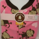 Carter's Child of Mine Blanket Sleeper - Monkey - 4 Toddler