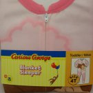 PBS Curious George Blanket Sleeper - 4 toddler
