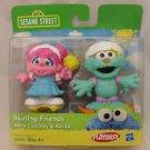 Sesame Street Skating Friends Figurines - Abby Cadabby & Rosita