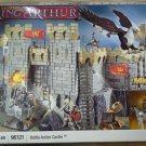 Mega Bloks Legends of King Arthur Battle Action Castle Set - SEALED MINT 96121