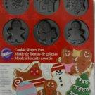 Wilton Holiday Christmas Cookie Molds Pan - NEW
