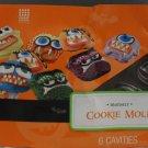 Wilton Halloween Monster Cookie Molds Pan - NEW
