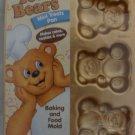 Wilton Teddy Bears Mini Treats Cake Pan - NEW