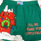Peanuts Snoopy Dog Mens M Boxer Shorts