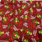 Dr. Seuss The Grinch Merry Grinchmas Christmas Mens XL Boxer Shorts