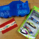 Hot Wheels Easter 4 Pack Gift Set - BLUE