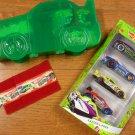 Hot Wheels Easter 4 Pack Gift Set - GREEN