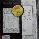 Spectrum Noir Colorista Card Making Kit - Thank you Foil Accents