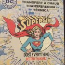 DC Comics Supergirl Iron-on Transfer