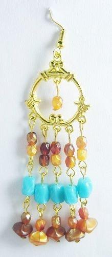 Artisan Beaded Earrings - BBab