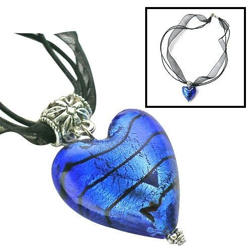 Blue Murano Glass Necklace - BBbm