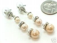 Designer Drop Pearl Earrings - BBdp