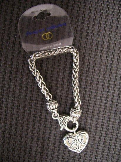 Designer Inspired Heart Charm Bracelet - BBhc