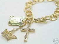Religious Charm Bracelet - BBrc