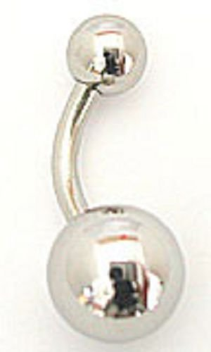 Stainless Steel Belly Ring - BBss