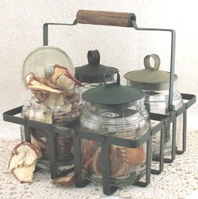 Caddy With Jars - G9390