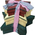 Rustic Star Boxes - 3/Set - G20264