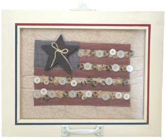 Flag Quilt Window - G22292