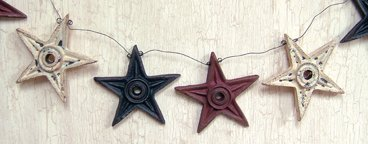 Architectural Star Garland - G23274