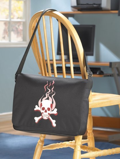 Skull Messenger Bag - MM37697