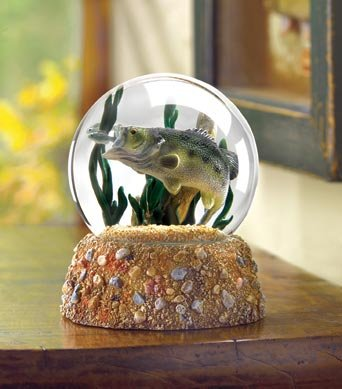 Largemouth Bass Water Globe - MM37800