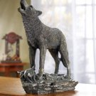 Antique Bronze Finish Wolf  - MM37573