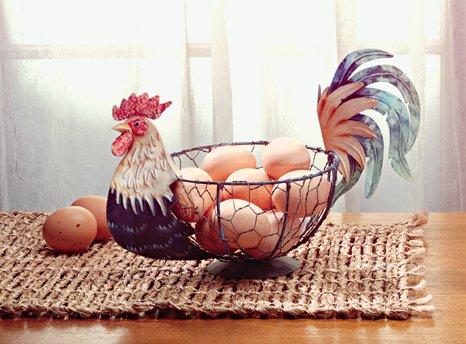 Rooster Egg Basket - MM33027