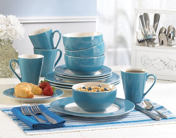 Blue Dinnerware Set - MM36602