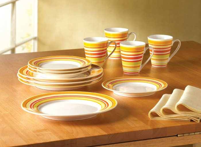 Stripes Dinnerware Set - MM36601