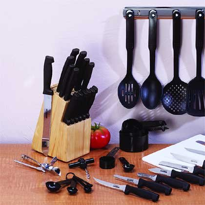 41 PC CUTLERY & KITCHEN SET #31913