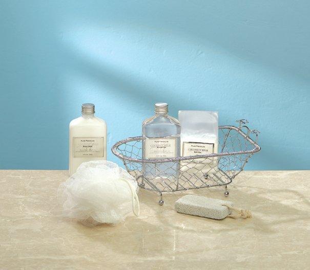 Gift Set In Decorative Bath Tub - MM34186