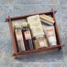 Tea & Ginger Bath - Wood Tray - MM36398