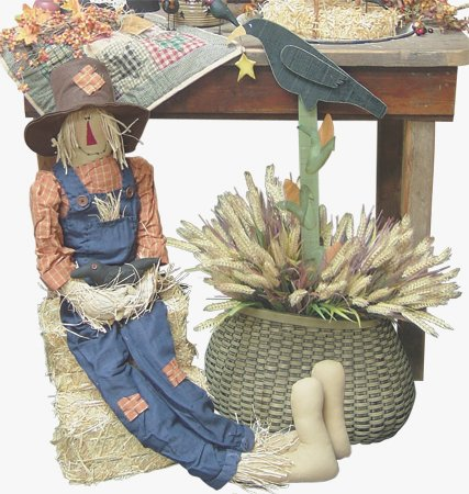 "Scarecrow Doll - 48"" - GF6017"