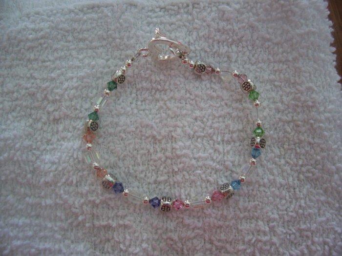 Swarovski Silver Bracelet - TTss