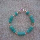 Teal & Silver Bracelet - TTts