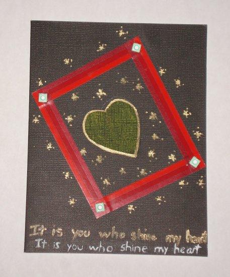 Love You card - NNly01