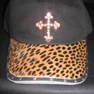 Baseball Cap - Leopard/Cross - JGlc2