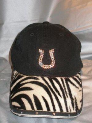 Baseball Cap - Zebra/Horseshoe - JGzh