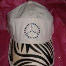 Khaki Baseball Cap - Zebra & Mercedes - JGzm