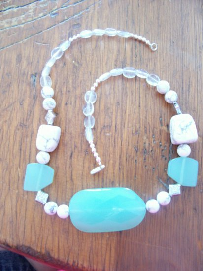 Opal Quartz Choker Necklace- TToq