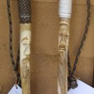 Custom Hand Carved Hiking Staffs - OCcc